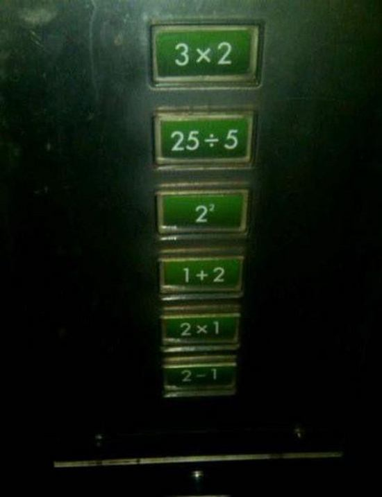 Guna Matematik nak Naik Lif