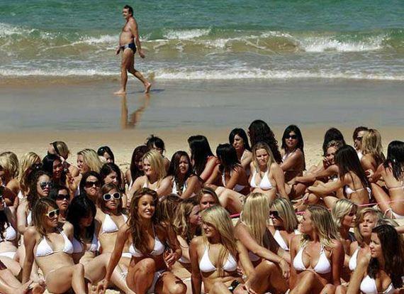 Фото многих голых девушек