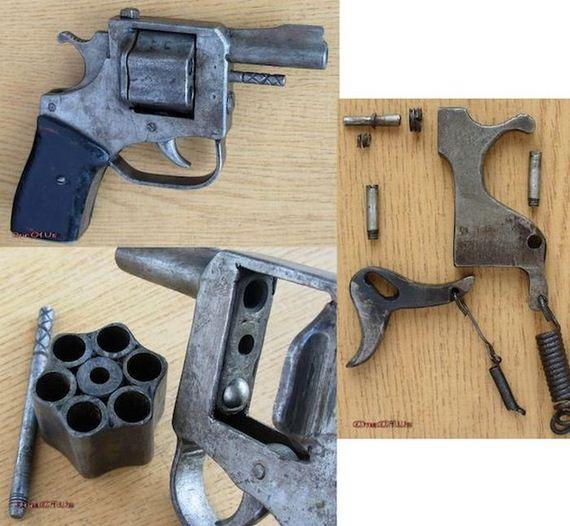 Armas de fuego de fabricación casera...