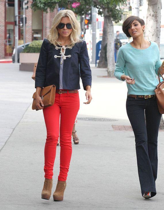 Skinny jeans celebrities