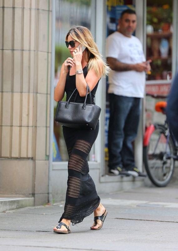 Abbey-Clancy-hot-in-black-dress