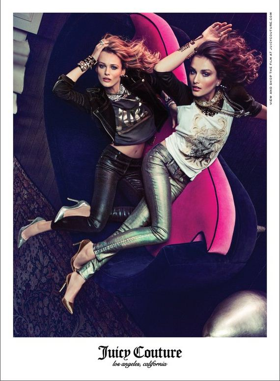 Andreea Diaconu-Edita Vilkeviciute-Inez and Vinoodh-Juicy Couture