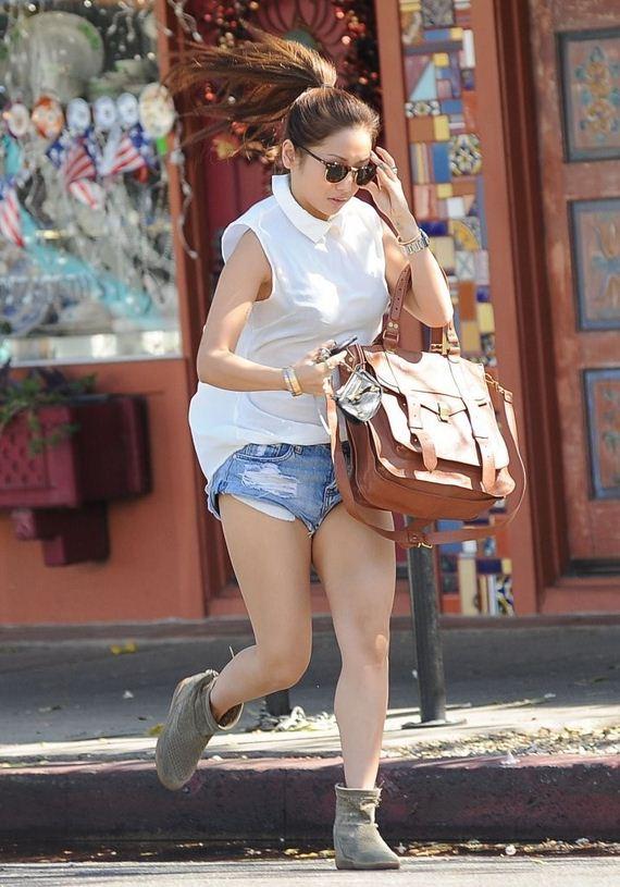 Brenda-Song-in-Jeans