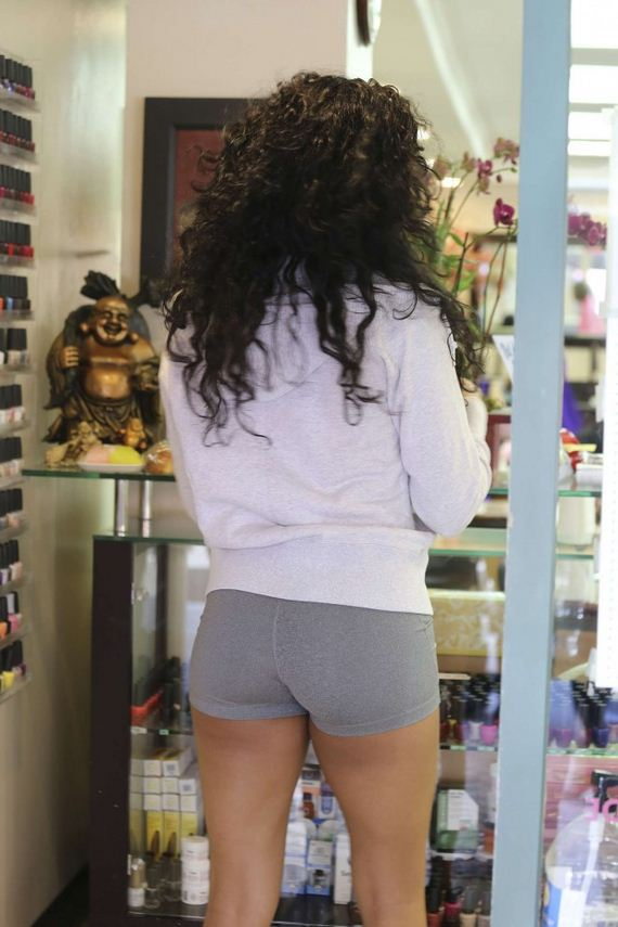 Bria-Murphy-in-Tight-Shorts