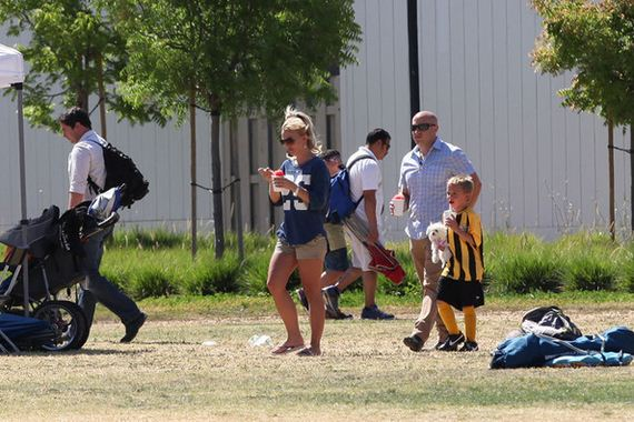 Britney-Spears-at-a-soccer