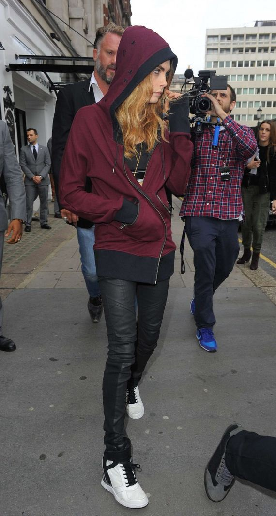 Cara-Delevingne-at-Harrods