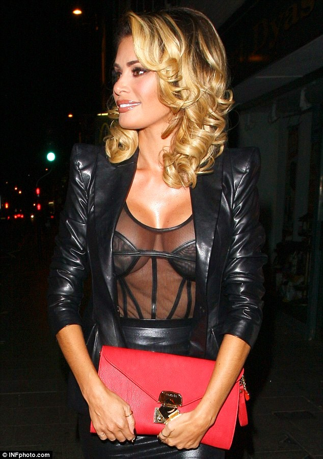 Chloe-Sims-in-Leather