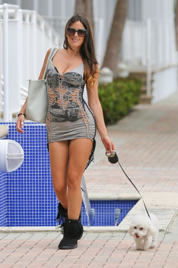 Claudia-Romani-Hot-on-street