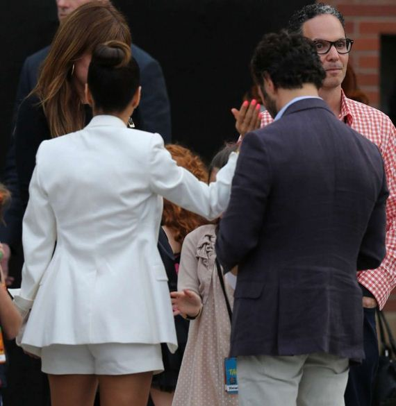 Eva-Longoria-in-White-Shorts