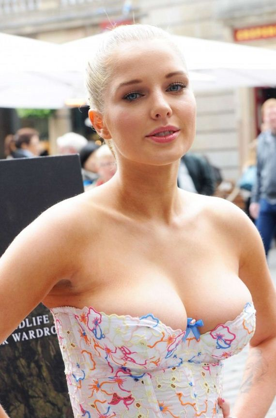 Helen-Flanagan-PETA-Anti-Exotic-Skins