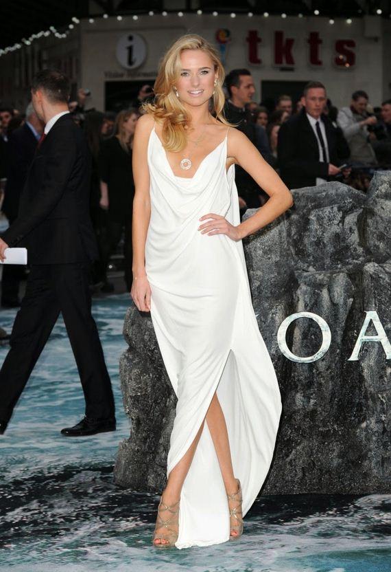 Kimberley-Garner-Wearing-Sexy-White-Dress