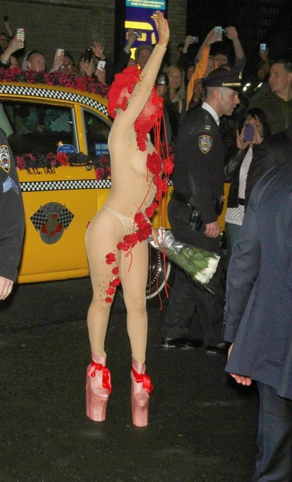 Lady-Gaga-Wearing-Sheer-Outfit