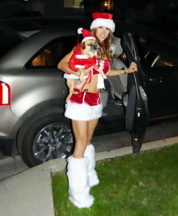 Leilani-Dowding-in-a-Santa-Outfit