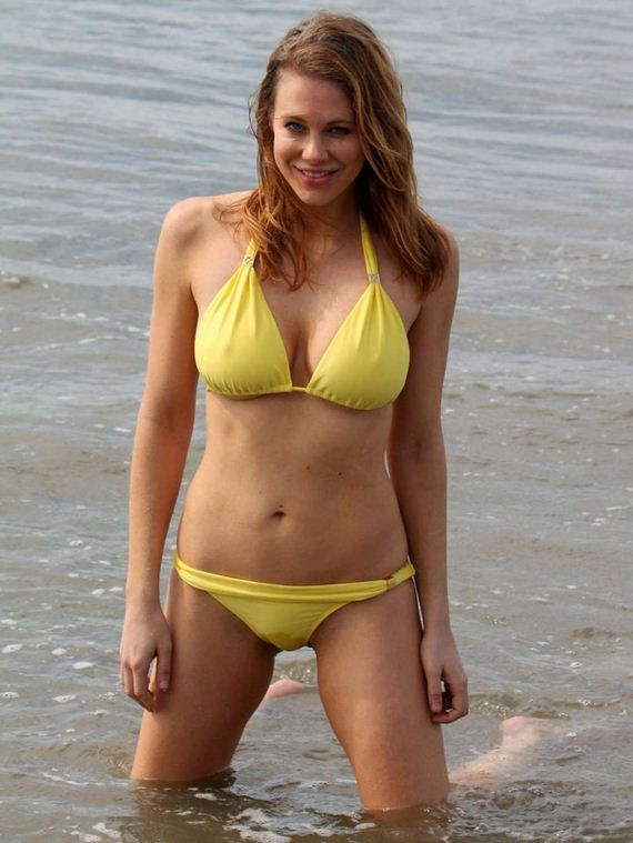 Maitland-Ward-in-Yellow-Bikini