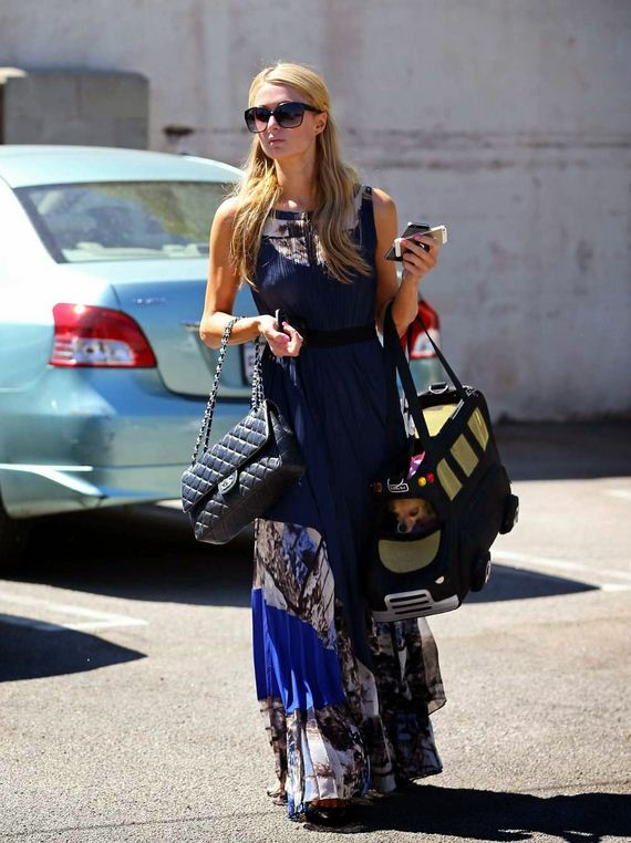 Paris Hilton  - at pilate class in Los Angeles 014