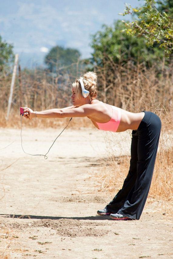 Peta Murgatroyd Workout - 12thBlog