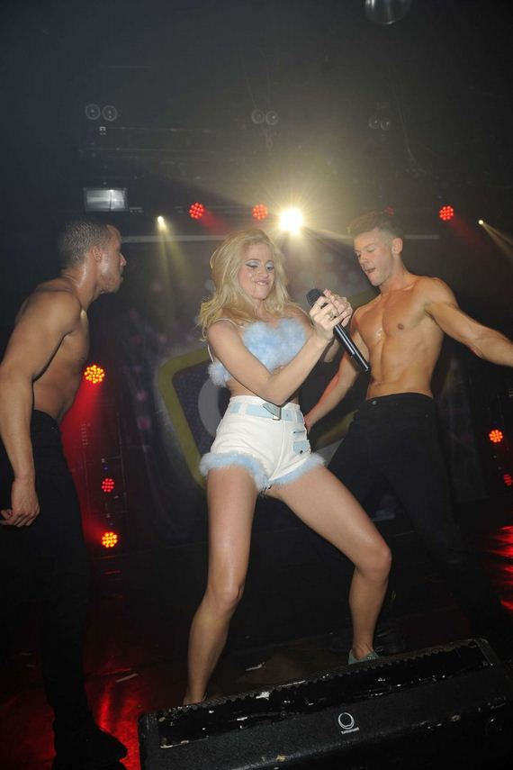Pixie-Lott -Performs-at-Heaven-Nightclub