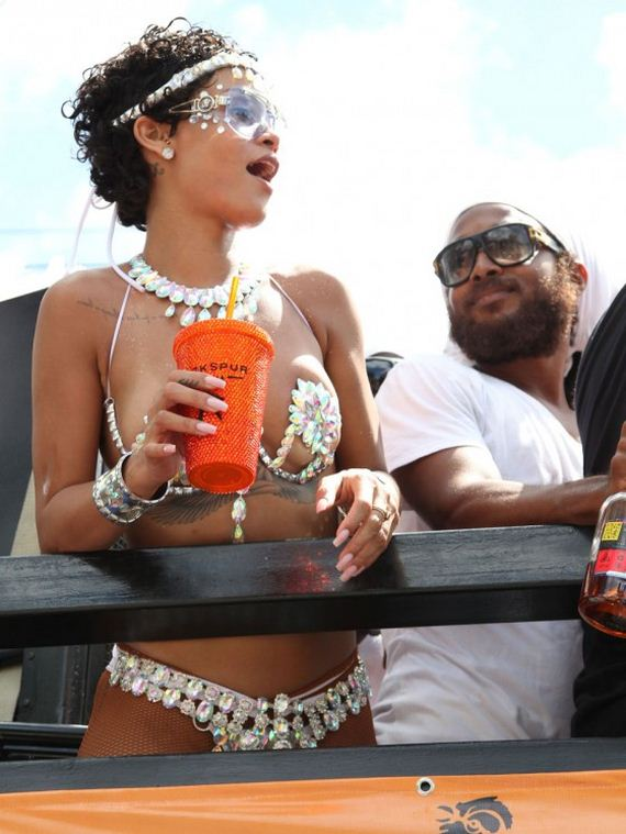 Rihanna -2013-Kadooment-Day