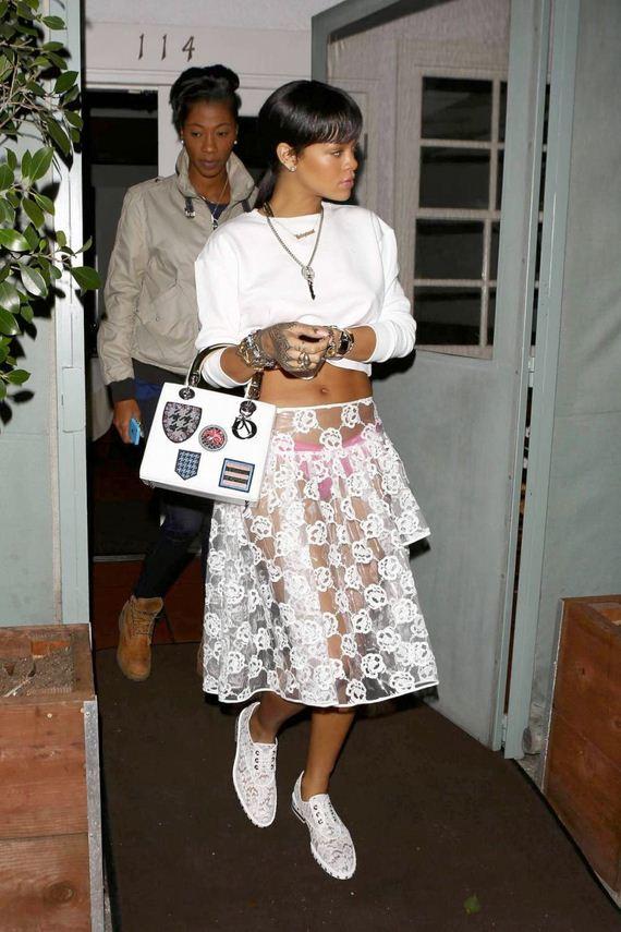 Rihanna-Pink-Panty