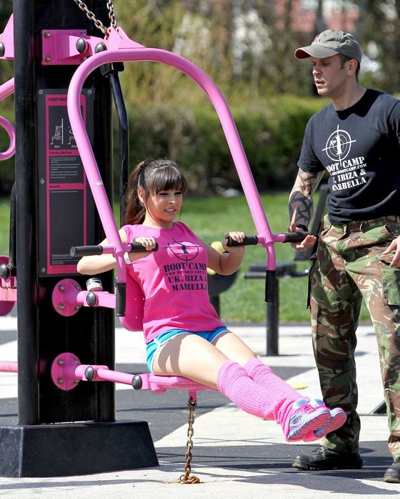 Roxanne-Pallett-Outdoor-Gym