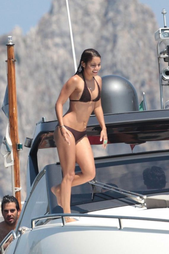 Vanessa-Hudgens-In-a-Brown-Bikini