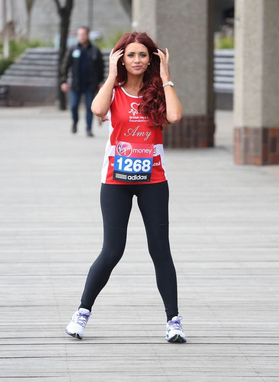 amy childs-virgin-london-marathon