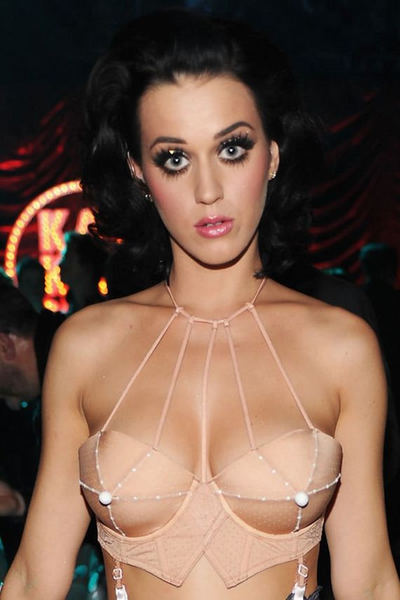 katy perry almost naked