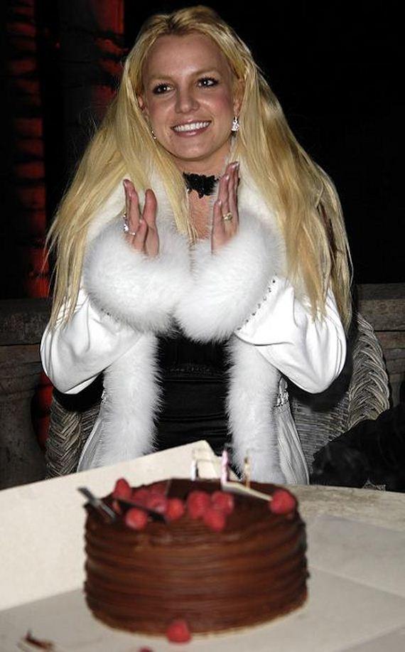 Birthday Cake Britney Spears