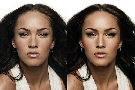 Exposing Airbrushing: Excessive Before and After Pictures