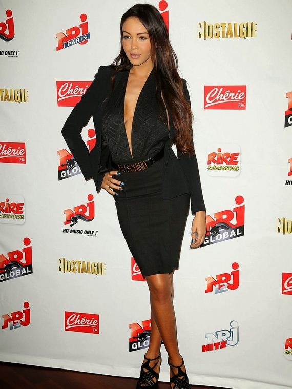 nabilla-benattia-at-a-press-conference