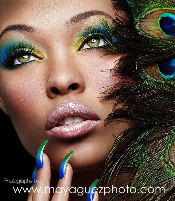Makeup-Blue-Green