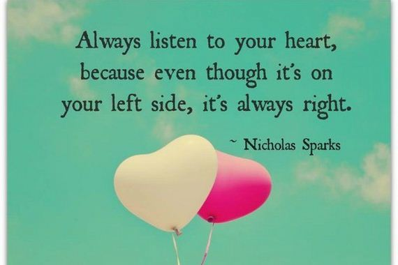 Nicholas Sparks Quotes To Help Him Cope With HIS Heartache