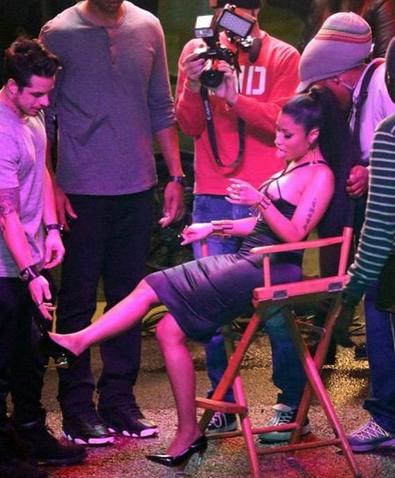 Nicki-Minaj -Filming-a-New-Music