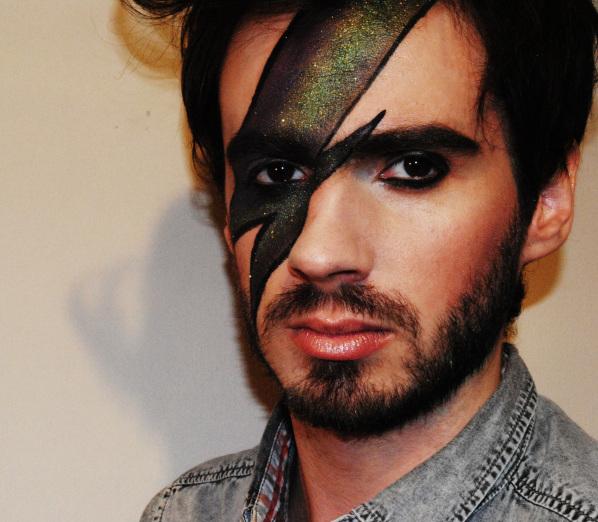 Man makeup
