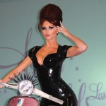 Amy Childs at Amy Childs Lashes Launch in London
