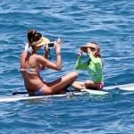 Alessandra Ambrosio. Bikini. Rinse. Repeat.