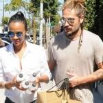 Zoe Saldana – Shopping Candids in Los Angeles