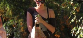 Ashley Tisdale – Returns home in Toluca Lake