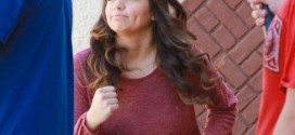 Bethany Mota – Filming a DWTS Promotion in Hollywood