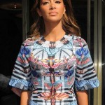 Nicole Scherzinger – Alice Temperley Show SS 2015 London Fashion Week