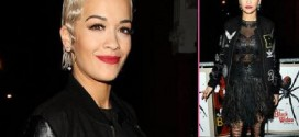 Rita Ora Checks In at Iggy Azalea's London Concert