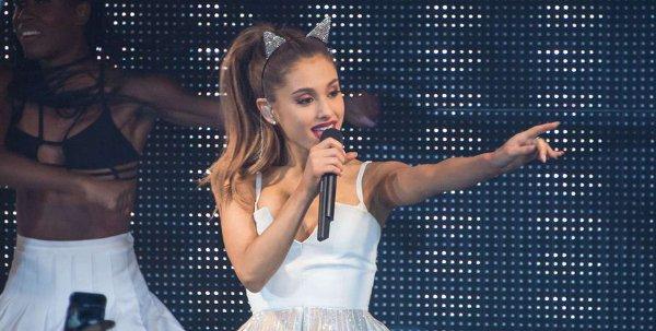 Ariana Grande at BPM Nightclub in NY