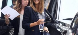 Jessica Alba Going to a Meeting in NYC