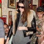 Kendall Jenner at Ferdi Restaurant in Paris