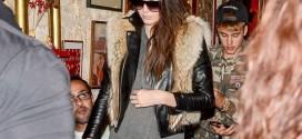 Kendall Jenner at Ferdi Restaurant in Paris