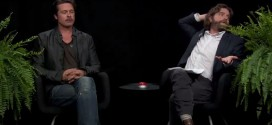 Brad Pitt Gets Literally Upstaged By Louis C.K. on Between Two Ferns