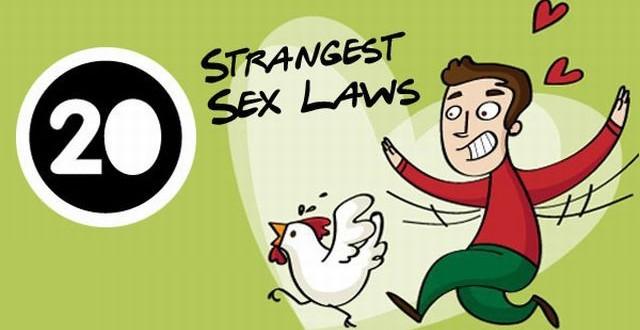 8 Weird US Sex Laws