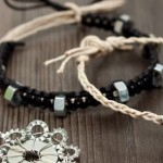 DIY gifts for him – How to make braided hex nut bracelets