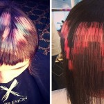 Pixelated Hair Is The Newest Cutting-Edge Trend
