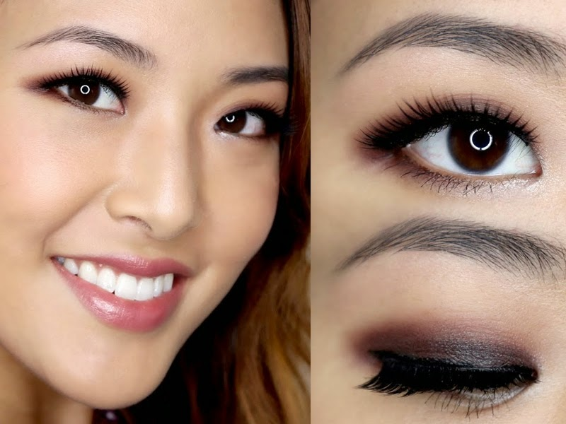 Natural Warm Toned Eyeshadow Round Eyes